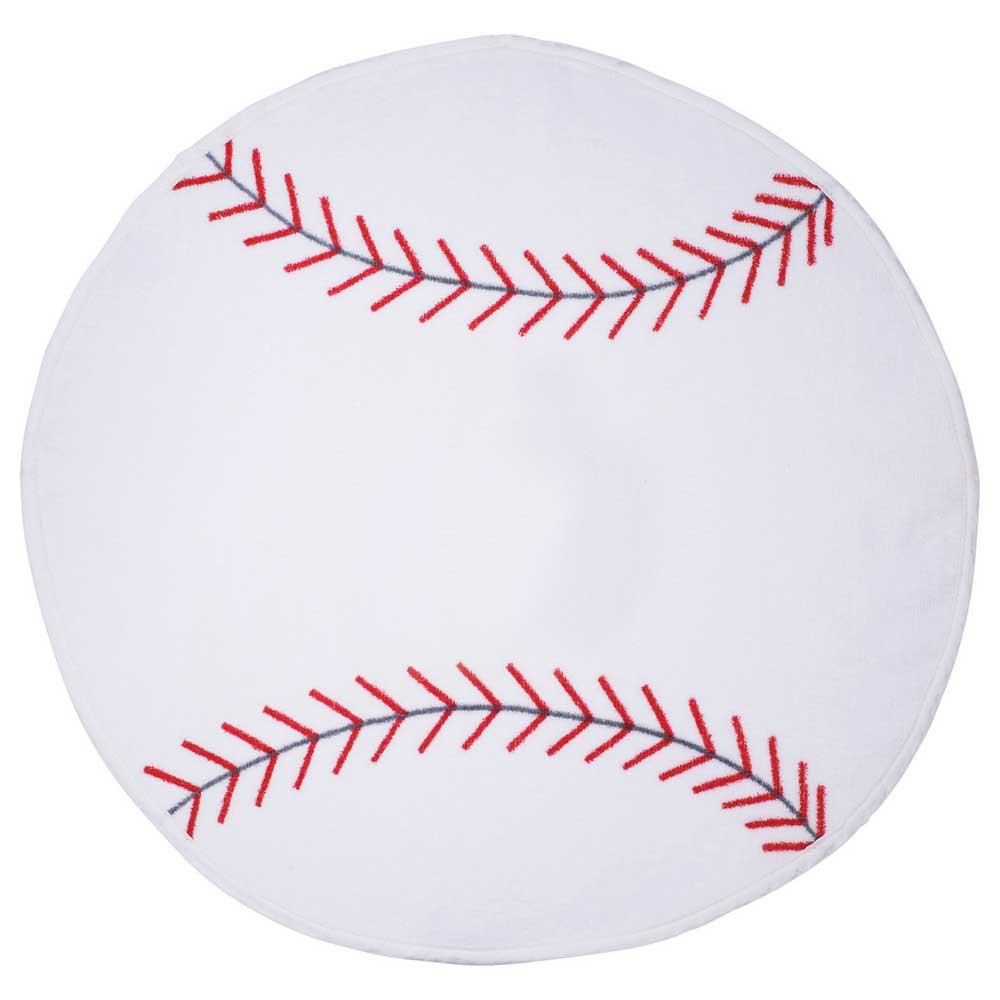 La Fitness With Towel Service: Baseball Shaped Stock Design Sport Towel